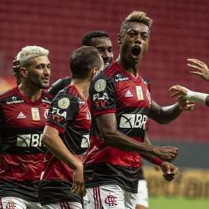 Bruno Henrique desfalca o Flamengo contra o Athletico, ...