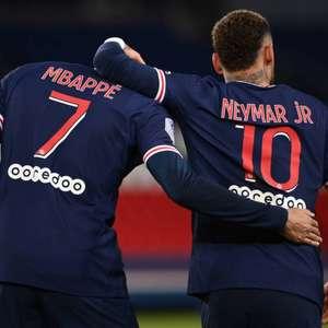 Neymar e Mbappé brilham, e PSG goleia o Montpellier no ...