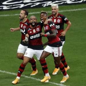 Flamengo derrota o Palmeiras e sonha com título brasileiro