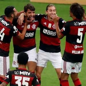 Pepê, do Flamengo, revela profecia de Filipe Luís antes ...