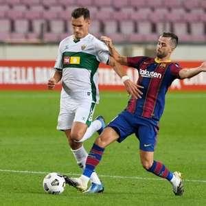 Sem Messi, Barcelona encara o Elche pelo Campeonato Espanhol