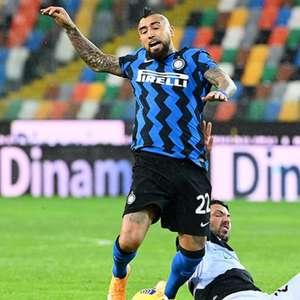 Internazionale empata com Udinese e fecha o turno do ...