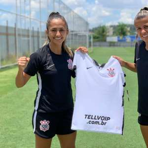 De cara nova! Veja os detalhes do novo patrocínio exclusivo para o time feminino do Corinthians