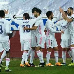 Real Madrid faz grande primeiro tempo e vence o Alavés ...