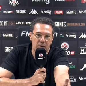 """VASCO: Luxemburgo explica """"nó tático"""" em Sampaoli e exalta terceiro gol do time: """"um gol de jogo de futebol!"""""""