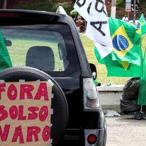 Cidades brasileiras registram protestos contra Bolsonaro