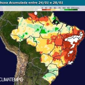 ZCIT deixa o tempo instável na costa norte do Brasil