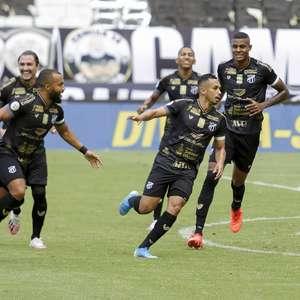 Palmeiras perde para o Ceará e se afasta da liderança do BR