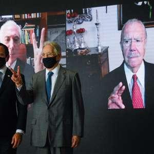 """Doria reúne ex-presidentes em """"ato institucional"""" por vacina"""