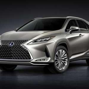 SUVs da Lexus têm mais itens eletrônicos na linha 2021