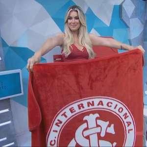 Renata Fan elogia Abel Braga e provoca Renato Gaúcho após vitória do Inter no Grenal: 'Chora com gosto'