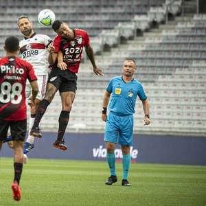 Abner crava pós-jogo: 'Foi o meu melhor jogo pelo Athletico'