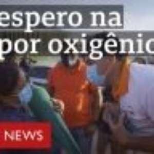 'Estamos nos humilhando para viver': as cenas da luta por oxigênio em Manaus