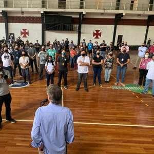 Salgado se reúne com funcionários em São Januário e ...