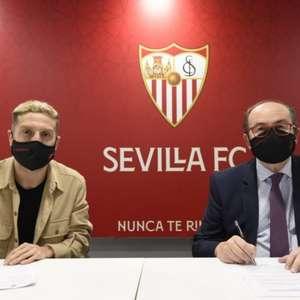 Sevilla anuncia a contratação do meia Papu Gómez, ex- ...