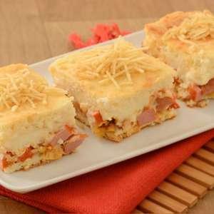Torta de batata e salsicha cremosa: pronta em 40 minutos