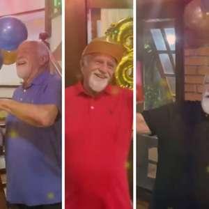Ary Fontoura faz 88 anos e brinca sobre 'festa' em ...