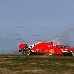 Sainz estreia pela Ferrari e acelera carro de 2018 em ...