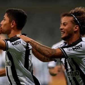 Destaque do Atlético-MG no duelo com o Santos, Savarino ...
