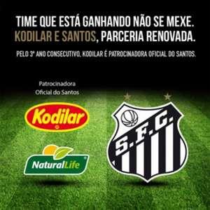 Santos renova com terceiro patrocinador antes da final ...