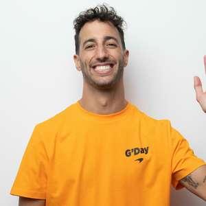 """Ricciardo se esquiva de brincadeiras e nega """"show de ..."""