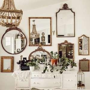 Espelho Vintage: +48 Modelos que Ultrapassam as Linhas ...