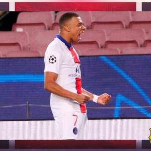 O dia em que Mbappé botou o Barcelona de Messi no bolso