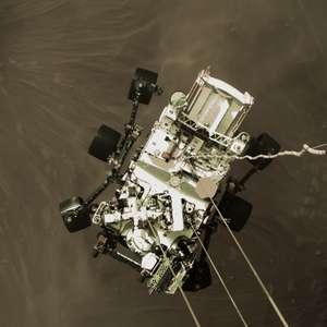 Nasa divulga vídeo inédito e histórico de pouso em Marte