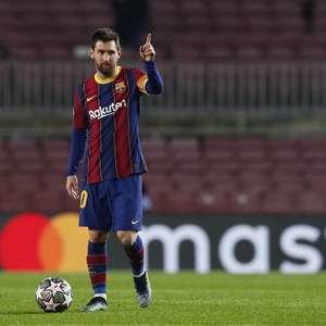 Manchester City nega ter feito qualquer proposta para Messi