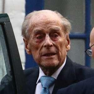 Philip deve permanecer internado até a próxima semana