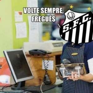 Corinthians sofre com memes após derrota para o Santos