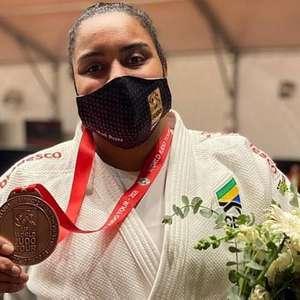 Maria Suelen é bronze e conquista única medalha do judô ...