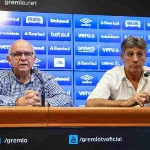 Presidente do Grêmio garante que equipe será campeã da Copa do Brasil