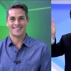 Ivan Moré grava programa piloto no SBT, mas Silvio Santos dispensa jornalista e coloca filha no lugar