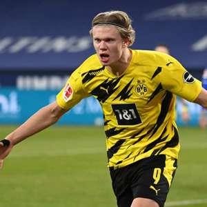 Haaland marca duas vezes, Borussia Dortmund goleia o ...