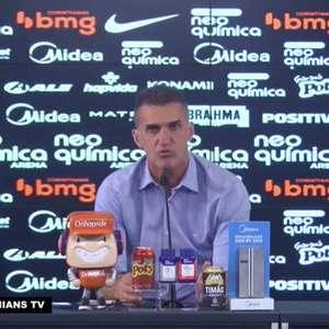 """CORINTHIANS: Mancini garante reestruturação no elenco para 2021: """"Vamos fazer uma reconstrução na equipe usando atletas da base"""""""