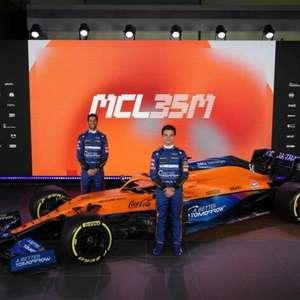 O novo carro da McLaren para a F1 2021
