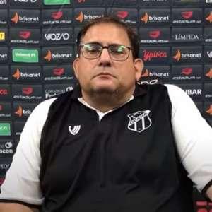 Guto Ferreira exalta classificação do Ceará para a Sul-Americana