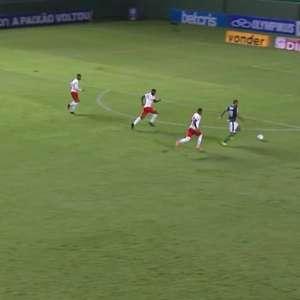 Goiás fica no empate com o Bragantino e está rebaixado para a Série B