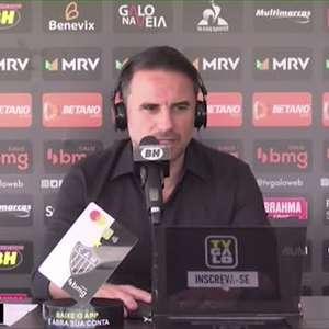 """ATLÉTICO-MG: Rodrigo Caetano cita filosofia de novo treinador, ressalta que clube irá fazer entrevistas e avisa: """"não serão muitos"""""""