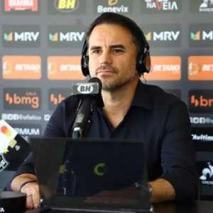 Rodrigo Caetano fala sobre Tardelli e Victor, em fim de contrato, e da saída de Jorge Sampaoli do Galo