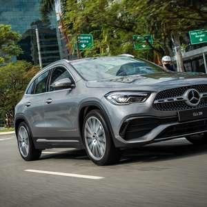 Agora importado, Mercedes GLA 200 ganha versão AMG Line