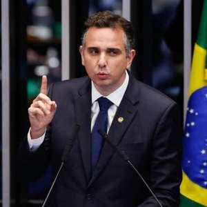 """Rodrigo Pacheco: """"CPI da Saúde seria contraproducente"""""""