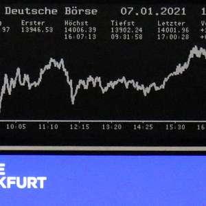 Mercados acionários europeus fecham em alta após dados ...