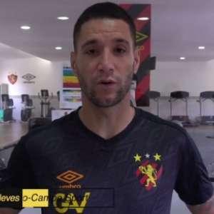 Trio de peso? Thiago Neves afirma querer jogar com Diego Souza e André no Sport
