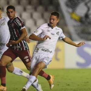 Jean Mota busca espaço no Santos e elogia o técnico ...