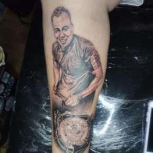 Torcedor do Sport marca Jair Ventura na pele e explica tatuagem inusitada