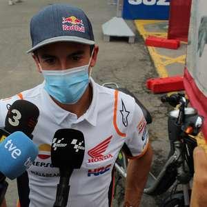 """Márquez diz que terceira cirurgia abalou, mas que """"nunca ..."""