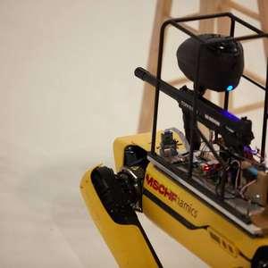 'Robô-cachorro' da Boston Dynamics ganha 'arma' em ...