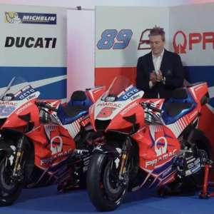 Sem mudar muito, Pramac lança moto 2021 e exalta ...